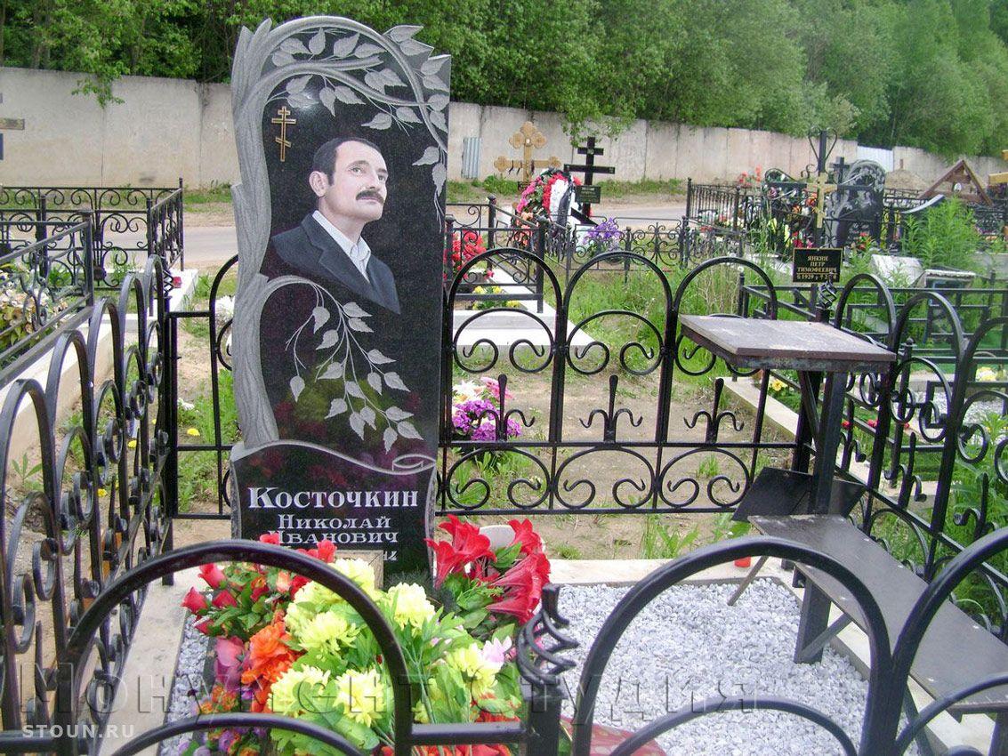 резной памятник на могилу